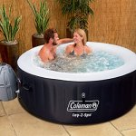 Coleman-Miami-4-Person-Inflatable-Spa-Hot-Tub-Black-0-0