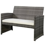 GHP-Outdoor-Garden-Patio-4-Piece-Cushioned-Seat-Mix-Gray-Wicker-Sofa-Furniture-Set-0