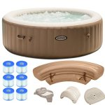 Intex-Pure-Spa-6-Person-Inflatable-Portable-Hot-Tub-Ultimate-Bundle-Package-0