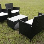 Merax-4-Piece-Outdoor-Patio-PE-Rattan-Wicker-Garden-Lawn-Sofa-Seat-Patio-Rattan-Furniture-Sets-0