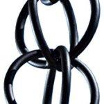 Monarch-International-Aluminum-Ring-Rain-Chain-85-Feet-Black-0