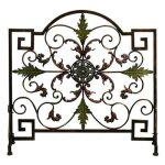 Single-Panel-Metal-Fireplace-Screen-0