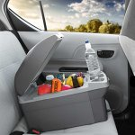 12V-Thermo-Electric-14-Liter-CoolerWarmer-Heavy-duty-Handle-for-Easy-Carry-Storage-and-Transport-0-2