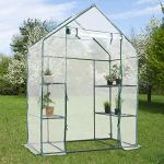 AK-Energy-77-Tall-Portable-4-Shelves-Walk-in-Greenhouse-Outdoor-3-Tier-Green-House-PE-Cover-0