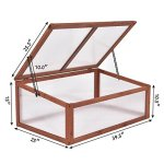 AK-Energy-Garden-Portable-Wooden-Mini-Green-House-Cold-Frame-Raised-Plants-Bed-Protection-Adjust-Hinge-0-1