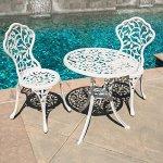 Belleze-3pc-Bistro-Set-Outdoor-Patio-Furniture-Leaf-Design-Antique-0-0