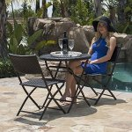 Belleze-Folding-Table-Chair-Bistro-Set-Rattan-Wicker-Outdoor-Furniture-Seats-Resin-3-PC-0