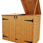 Bosmere-Rowlinson-A042-Garbage-Bin-Storage-Shed-69-x-53-x-40-0