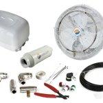 Cool-Off-18-Cool-Breeze-Misting-Fan-Kit-W200-PSI-Booster-Pump-0