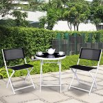 Custpromo-3-Pcs-Bistro-Set-Folding-Table-and-Chair-Set-Metal-Frame-Tempered-Glass-Top-Garden-Backyard-Furniture-0-0