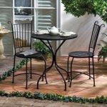 Home-Garden-Patio-Lounge-Chair-Set-Metal-Outdoor-Indoor-Iron-Seat-Table-Waterproof-Bistro-Accent-Decor-0