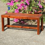 International-Caravan-Highland-Acacia-Americana-Backless-Bench-with-Contoured-Seat-Stain-0