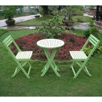 LOVE-US-Lovely-3-Piece-Folding-Patio-Bistro-Set-Made-of-Premium-Acacia-Hardwood-Weather-and-Water-Resistant-Finish-Designed-to-Fold-for-Ease-of-Carrying-and-Storage-Expert-Home-Guide-0