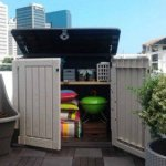 Plastic-Outdoor-Storage-Shed-30-CuFt-Color-BeigeTaupe-0-2