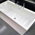 SDI-Deals-67-Soaking-Freestanding-Pedestal-Bathtub-White-Acrylic-Indoor-Tub-White-0-0