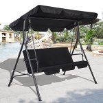 TANGKULA-3-Person-Patio-Swing-Outdoor-Canopy-Awning-Yard-Beach-Porch-Furniture-0-0