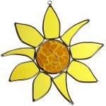 American-Made-Sunflower-Art-Glass-Sun-Catcher-0