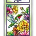 Amia-Beveled-Glass-Triptych-Decor-Panel-Hummingbird-Garden-in-Bloom-4-12-by-16-Inch-Hand-Painted-on-Glass-0