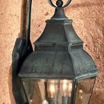 Bristol-2-Light-Outdoor-Wall-Lantern-in-Charcoal-and-Beveled-Glass-0-1