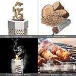 CIOGO-12-Pellet-Smoker-Tube-5-Hours-of-Billowing-Smoke-Detachable-and-Easy-Safety-and-Tasty-Smoking-Cold-or-Hot-Smoking-Ideal-for-Smoking-Cheese-Fish-Pork-Beef-Nuts-0-2
