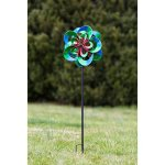 Evergreen-Serentiy-Outdoor-Safe-Kinetic-Wind-Spinning-Topper-Pole-Sold-Separately-0-0