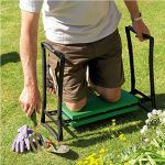 Gardman-GreenBlack-Foldaway-Garden-Kneeler-Seat-0