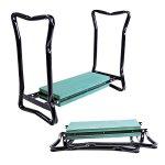 Green-Seat-Garden-Kneeler-Folding-Pad-Kneeling-Cushion-Gardener-Tool-Bench-Stool-Sturdy-Knee-Pouch-Portable-Chair-0-2