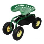 Greenred-Garden-Cart-Rolling-Work-Seat-with-Heavy-Duty-Tool-Tray-Gardening-Planting-0