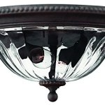 Hinkley-1243MN-Traditional-Two-Light-Flush-Mount-from-Oxford-collection-in-BronzeDarkfinish-0