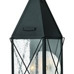 Hinkley-1844BK-Traditional-Two-Light-Wall-Mount-from-York-collection-in-Blackfinish-0