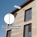InnoGear-Solar-Gutter-Lights-Wall-Sconces-with-Mounting-Pole-Outdoor-Motion-Sensor-Detector-Light-Security-Lighting-for-Barn-Porch-Garage-Pack-of-2-0-0
