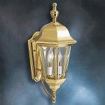KICHLER-Grove-Mill-9439PB-Outdoor-Wall-Lantern-95-in-Polished-Brass-0