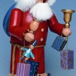 KWO-Large-Father-Christmas-German-Incense-Smoker-Handcrafted-in-Germany-New-0