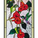 Mexicolour-Humming-bird-Stained-Glass-Leaded-Tiffany-Style-Garden-Home-Window-Panel-Handcrafted-Sun-Catcher-0