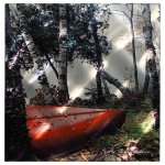 Next-Innovations-WA2RestingCanoe-22-Inch-by-22-Inch-Resting-Canoe-by-Kathy-Anderson-Wall-Art-0