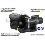 Pentair-Sta-Rite-P6E6G-208L-Max-E-Pro-Energy-Efficient-Single-Speed-Full-Rated-Pool-and-Spa-Pump-2-HP-230-Volt-0