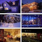 Snowfall-Led-LightsYAOXI-Waterproof-Christmas-Rotating-Fairy-Snowflake-Outdoor-Projector-Lamp-with-Wireless-Remote-for-Garden-Halloween-Christmas-Holiday-Wedding-Party-Decorations-0-2