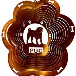 Stainless-Steel-Wind-Spinner-12-Animal-Dog-Breed-Pug-Copper-Starlight-0