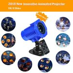 SunBox-Animated-Projector-Lights-Waterproof-IP65Wireless-Remote-Control-Movie-Show-Animation-Effect-Auto-Timer-SpeedFlash-AdjustmentGarden-Lamp-Lighting-for-Christmas-Halloween-Holiday-Party-0