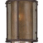 Troy-Lighting-Copper-Mountain-105-H-1-Light-Outdoor-Wall-Light-Copper-Mountain-Bronze-Finish-with-Silver-Mica-Glass-0