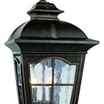 Two-Light-Antique-Rust-Clear-Water-Glass-Wall-Lantern-0