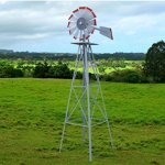 USA-Premium-Store-Metal-8FT-Windmill-Yard-Garden-Decoration-Weather-Rust-Resistant-Wind-Spinners-0