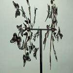 Upper-Deck-LTD-Aged-Copper-Finish-Butterfly-Garden-Twirler-Kinetic-Wind-Spinner-Stake-0-0