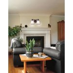 Westinghouse-6220500-Wensley-Two-Light-Interior-Wall-Fixture-Oil-Rubbed-Bronze-Finish-with-White-Alabaster-Glass-0-0