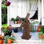 ZENY-Decorative-Wooden-Windmill-Classic-Old-Fashioned-Wind-Mill-Holland-Style-Lighthouse-Outdoor-Yard-Garden-Home-Decor34-0-0