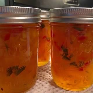 Pineapple-Mango Chili Jam