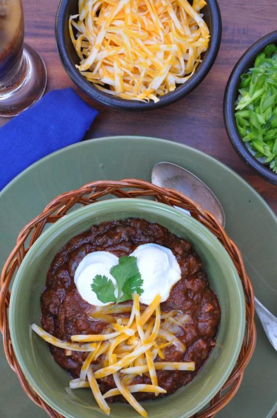 Emerils Chuck Wagon Chili Recipe | farmgirlgourmet.com