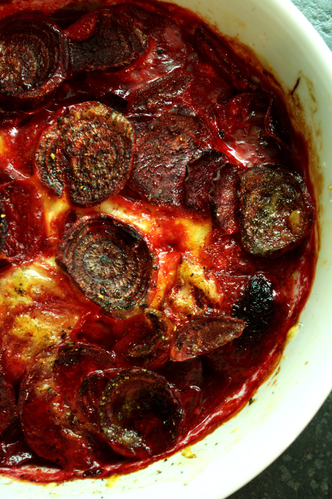 Beetroot Gratin – Rustic Italian by Domenica Marchetti