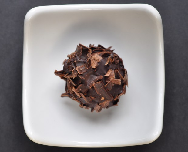 Triple Chocolate Mosto Cotto Truffles