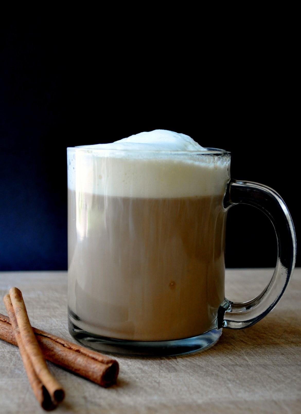 Cinnamon Dolce Latte | farmgirlgourmet.com
